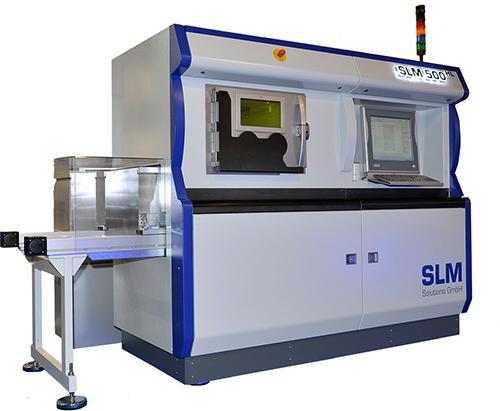 SLM 500 HL - новое поколение системы селективного лазерного плавления